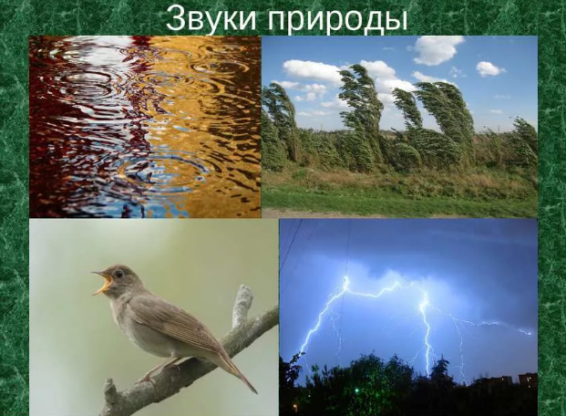 Звуки природы