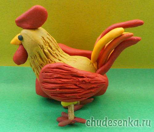 Из чего сделать поделку курица