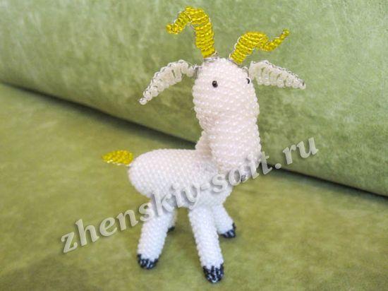 Как из символов сделать козу