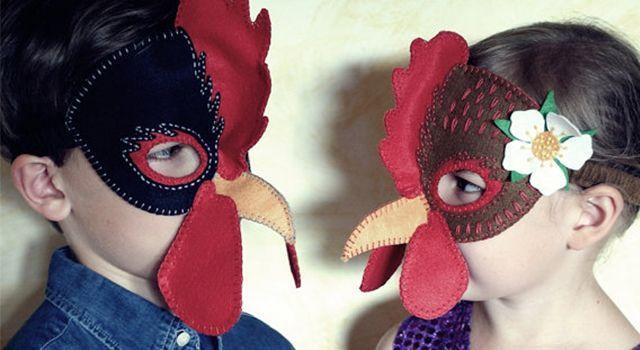 Как сделать маску для костюма 856