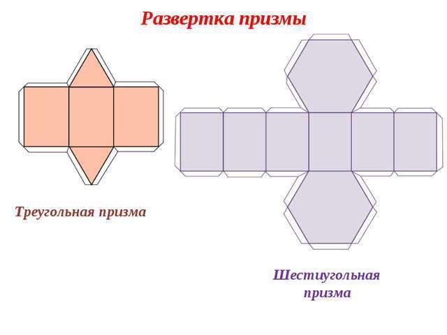 треугольная шестиугольная призма
