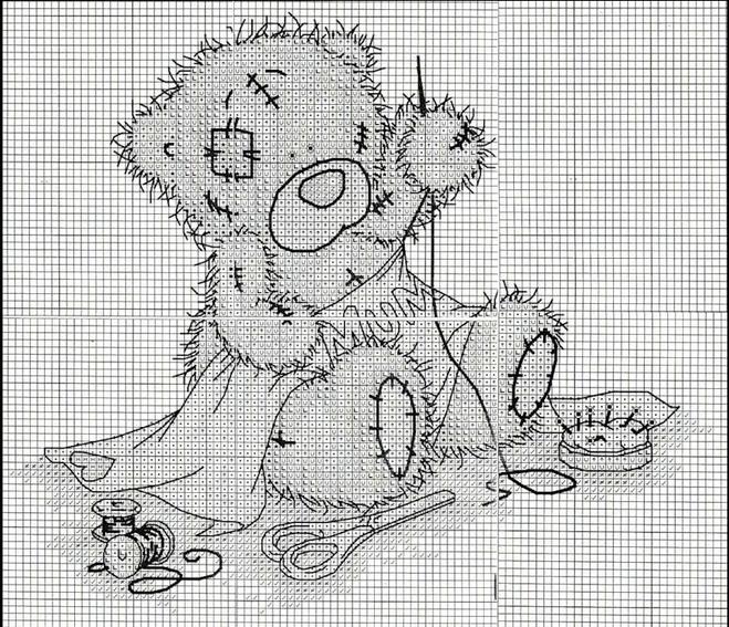 понравившихся мишек Тедди