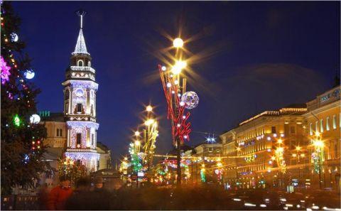Куда сходить в Питере в новогодние праздники до и после Нового Года 2017??
