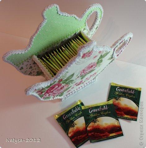 Для чайных пакетиков своими руками
