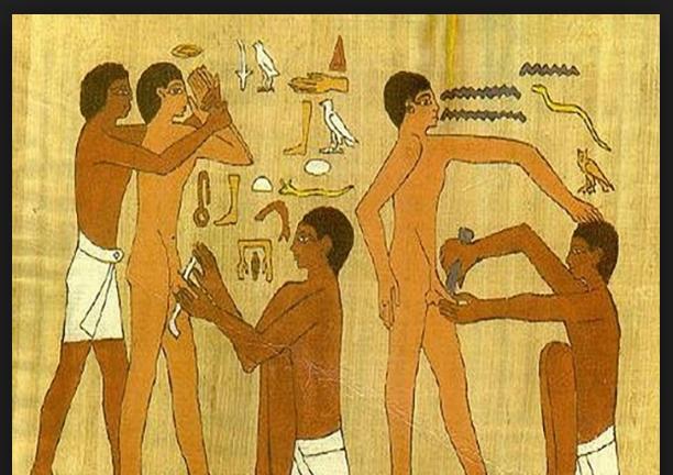 О сексе обрезание