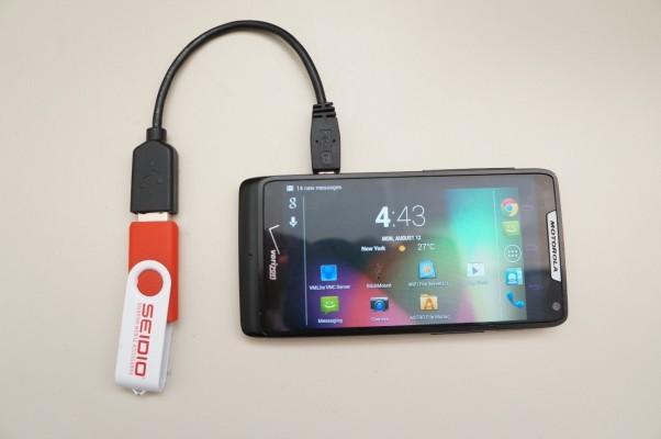 Как сделать андроид телефон флешкой 252