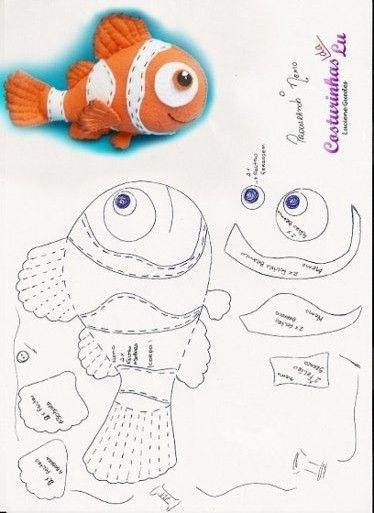 Рыбки из фетра своими руками выкройки