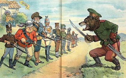 антироссийские карикатуры
