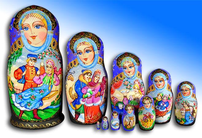 матрешка символ России