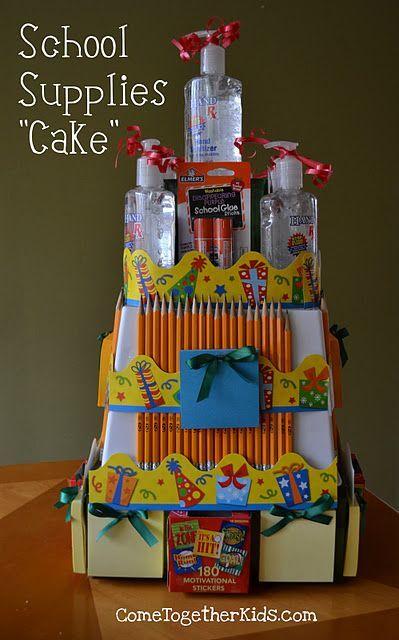 Как сделать торт из канцелярии