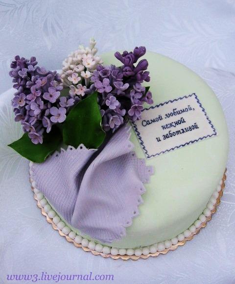 Как сделать цветы для торта из чего