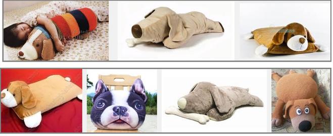 Как сшить подушку-собаку 15