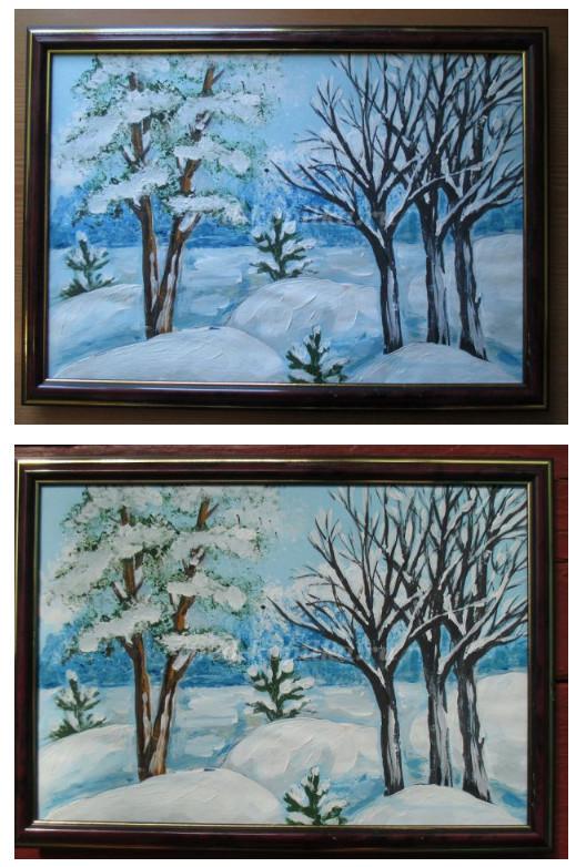 как нарисовать зиму гуашью поэтапно для детей мастер-класс