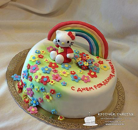 Украшения из мастики для детского торта своими руками