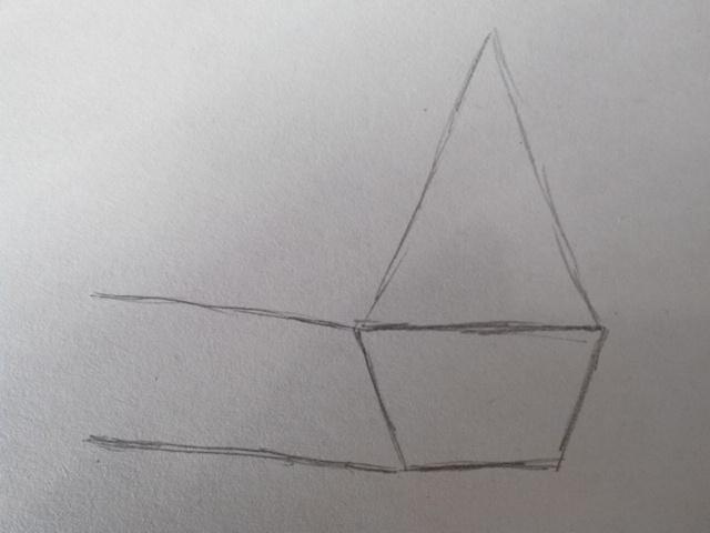 Как нарисовать теремок