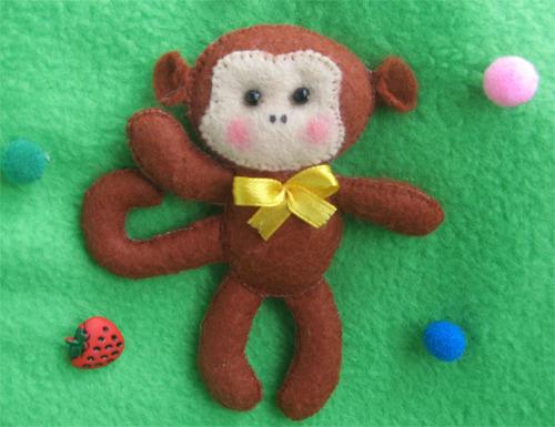 Фото обезьяны сделанной своими руками 88