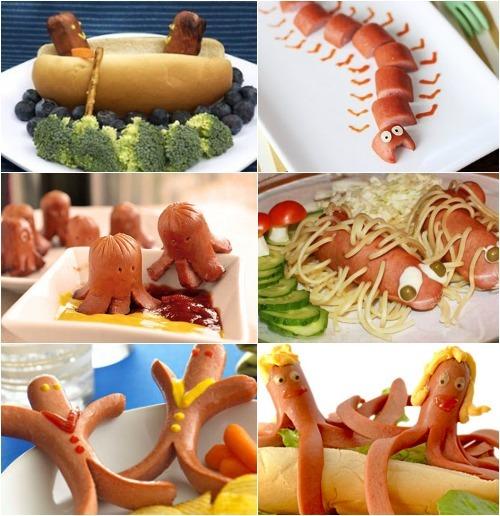 Как сделать сосиски для ребенка - Vendservice.ru