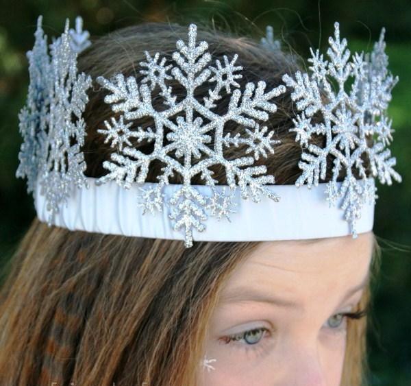 Новогодние короны для девочек  фото