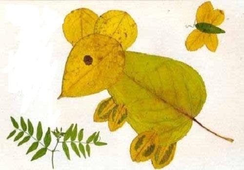 Поделки с животными из осенних даров и листьев: как сделать своими руками?