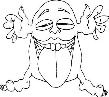 Каким нарисовать тролля из «Снежной королевы» Андерсена, примеры рисунков?