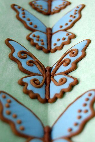 Сделать  бабочку для 190