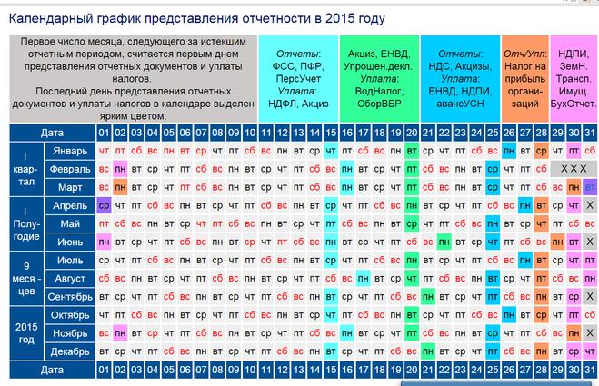 Календарь Бухгалтера Скачать - фото 7