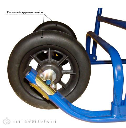 Как к санкам сделать колесики - Ve-sim.ru