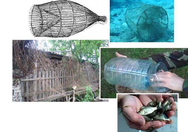 Как сделать самоловку для рыбы 785