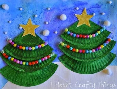 поделка на Рождество, рождественская поделка, поделки с детьми