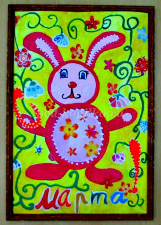 Как нарисовать открытку маме поэтапно мастер-класс для детей 5-7 лет