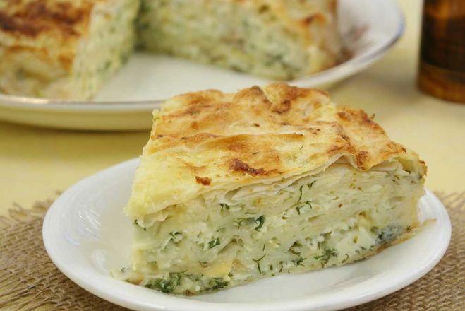рецепт лаваша с зеленью в духовке