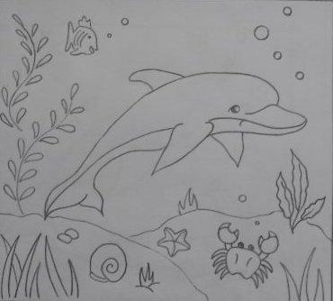 морское дно картинки рисунки