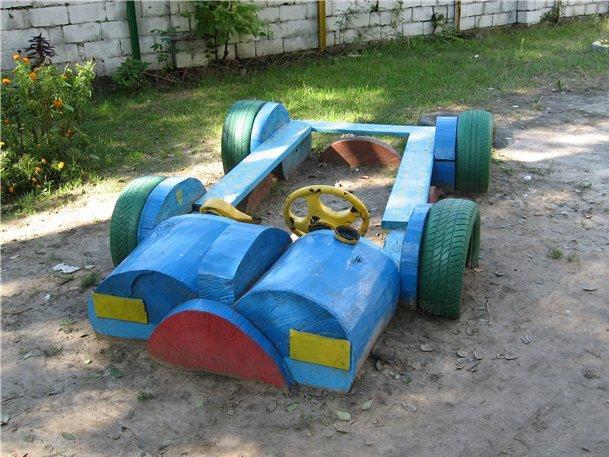 Можно ли сделать детскую площадку во дворе