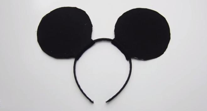 Как сделать уши микки мауса своими руками фото 451