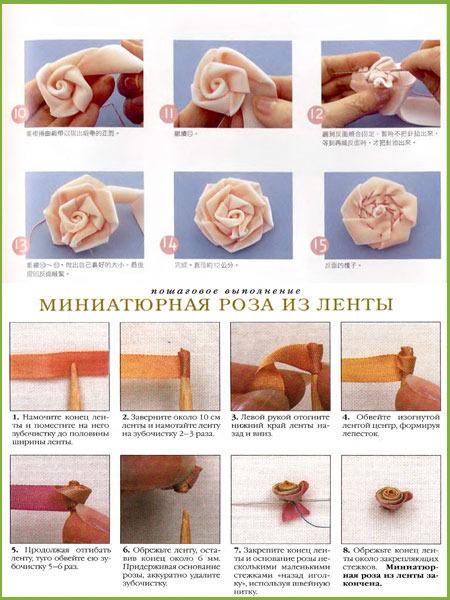 Как сделать розы из полимерной глины своими руками 150