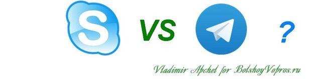Сравнение Skype и Telegram, лучшие мессенджеры