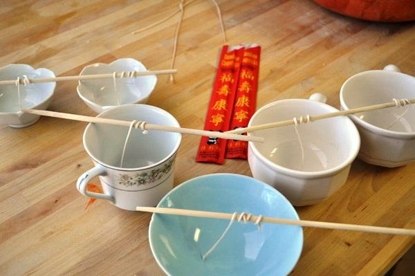 Как сделать свечку домашние условие