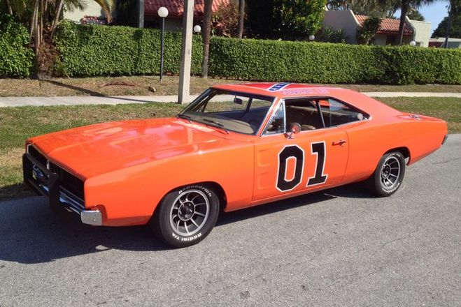 Сколько лошадиных сил у машины Dodge Charger 1969 года
