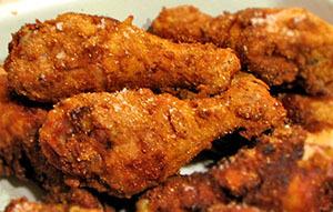 куриные бедрышки во фритюре
