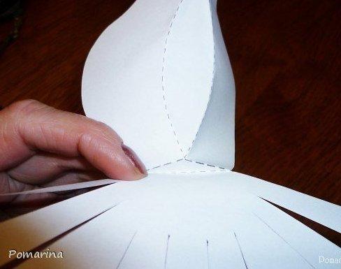 Как сделать крылья из картона фото 713