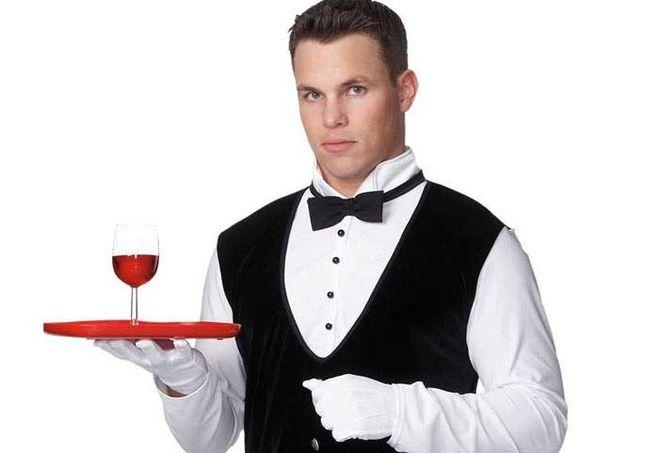 Сексуальные официанты