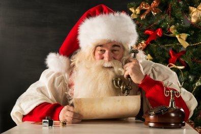 Звонок Деду Морозу.