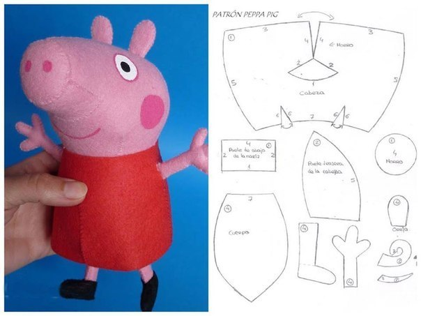 Как сшить свинку своими руками фото 629