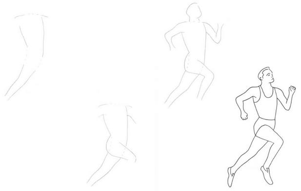 Как нарисовать человека поэтапно в красках