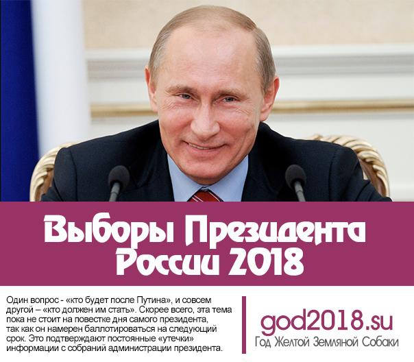 Путин президентские выборы 2018