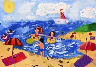 Конкурс рисунок мои летние каникулы