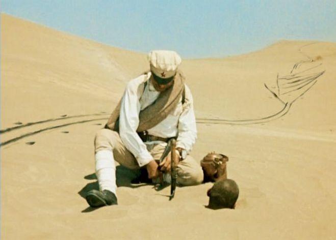 Киноляп из фильма Белое солнце пустыни
