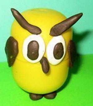 Как сделать из яйца животное
