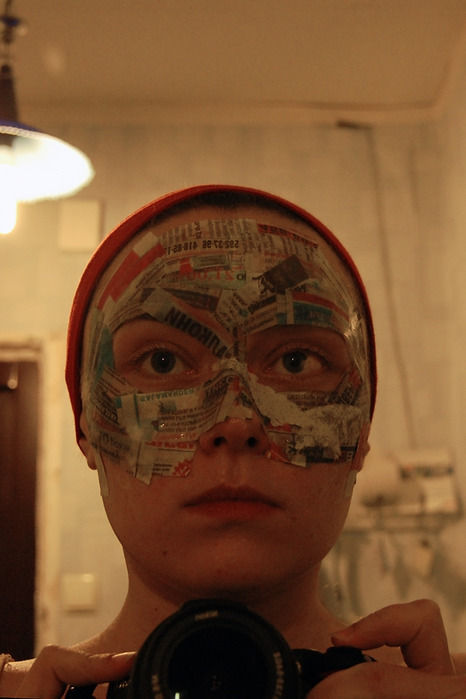 Папье маше как сделать маску