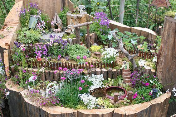сказочный сад своими руками